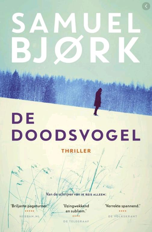 De Doodsvogel - Samuel Bjork - mijn favoriete boeken kwartaal drie