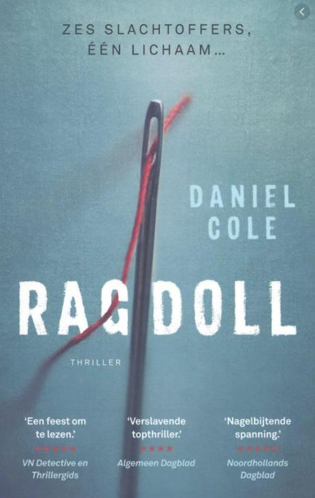 Ragdoll daniel cole - favoriete boeken Ralf Onvlee