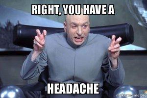 koffie hoofdpijn